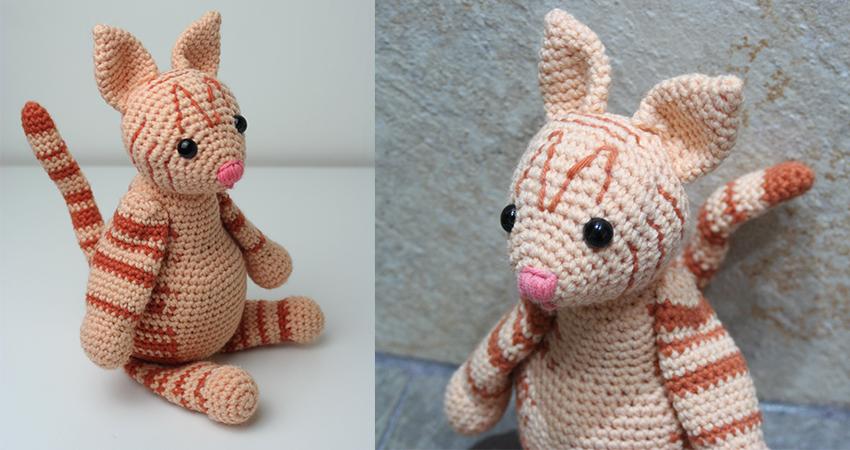Crochet Kitten - Free Pattern