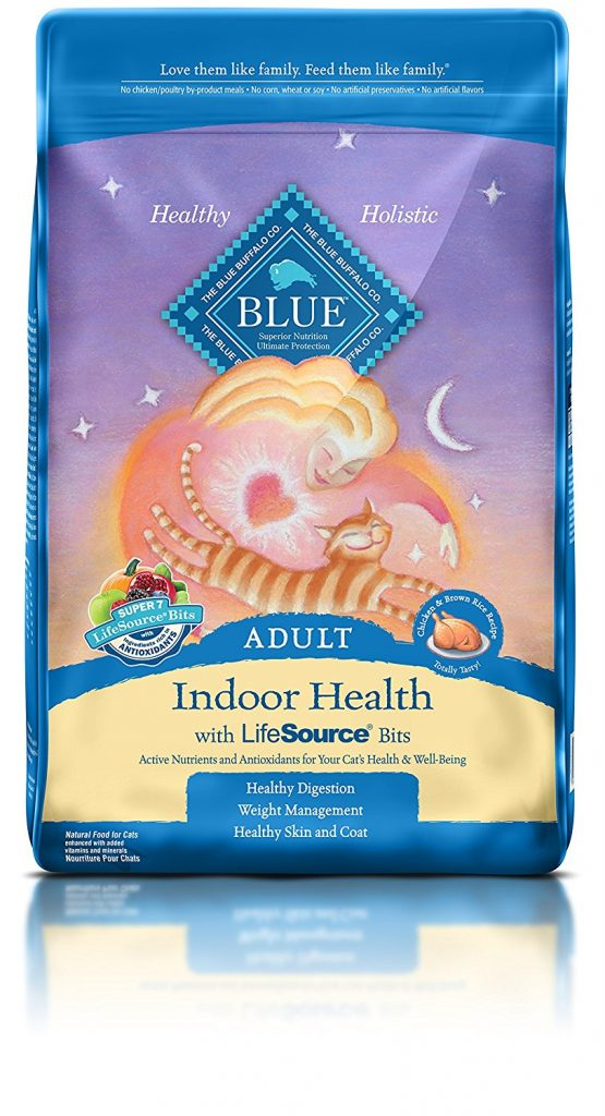 Sensitive Stomach Cat Food - Blue Buffalo Life Protection Dry Adult Cat Food