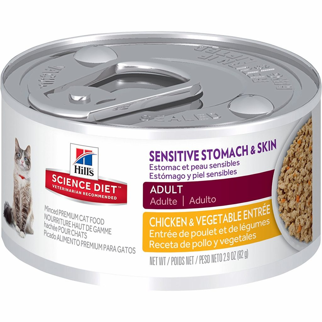 Sensitive Stomach Cat Food - Hill's Science Diet Sensitive Stomach & Skin Canned Cat Food