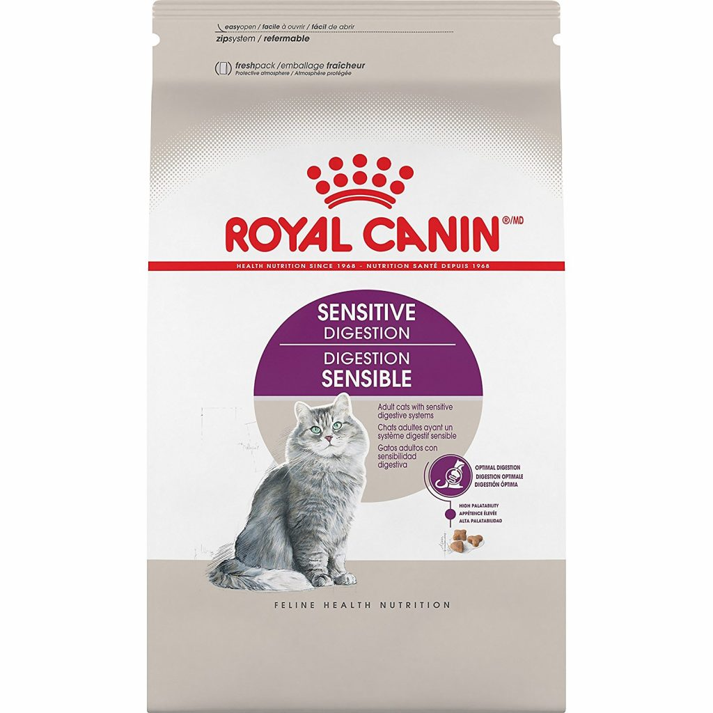 Sensitive Stomach Cat Food - Royal Canin Veterinary Diet Feline Gastrointestinal High Energy Dry Cat Food