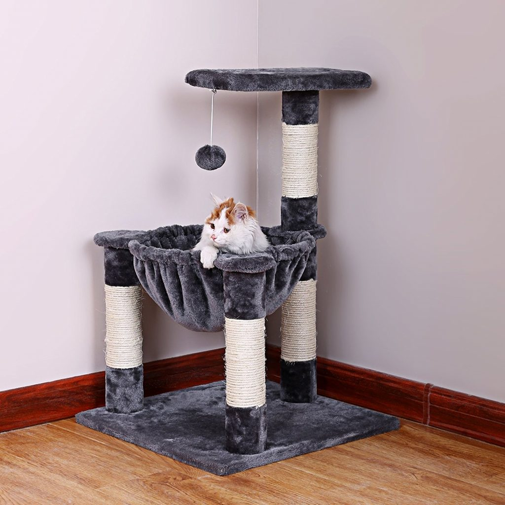 Choosing the best cat tree with hammock can be tricky - let our guide help you make the best choice!