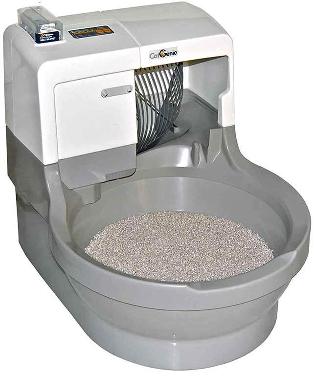 Flushing Cat Litter Poop