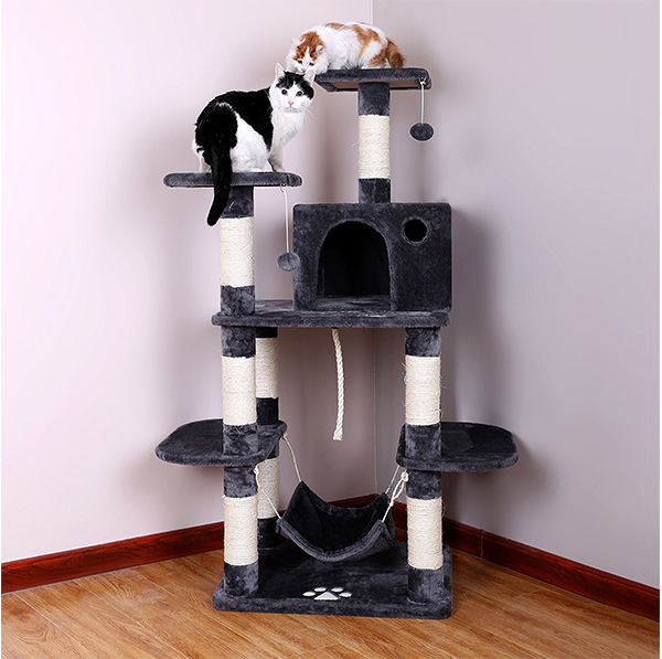 Best cat hammocks for cute kitties reviews and tips for for Interesting cat trees