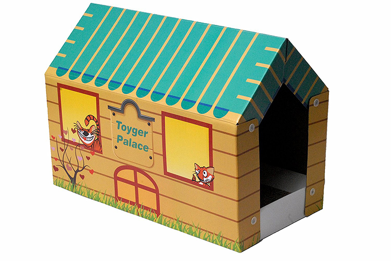 best cat scratching house