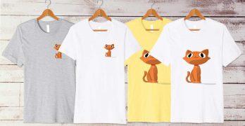 happy cat t shirts